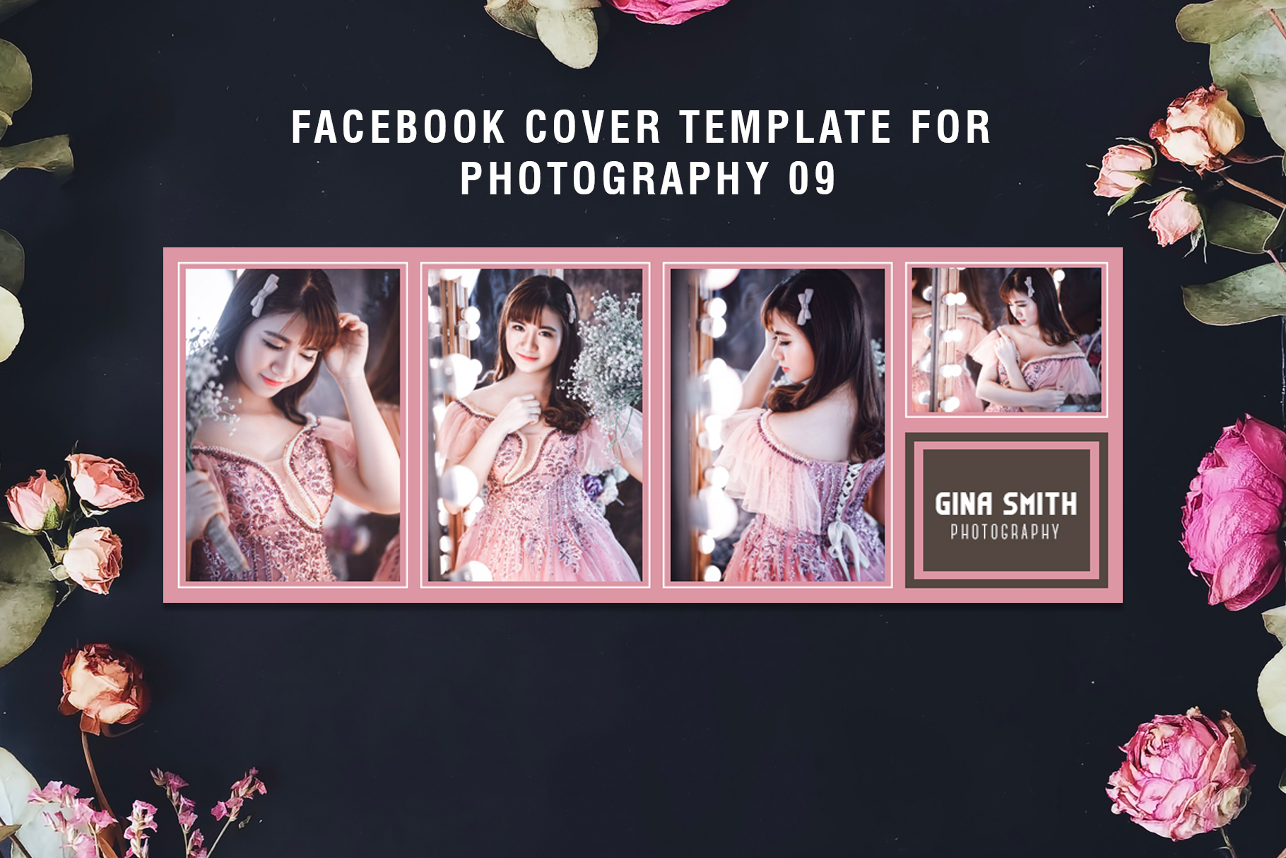 Print on Demand: Facebook Cover for Fashion Template Graphic Web Templates By Creative Tacos