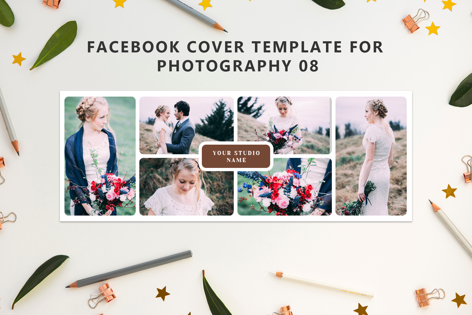 Print on Demand: Facebook Cover Photography Graphic Web Templates By Creative Tacos