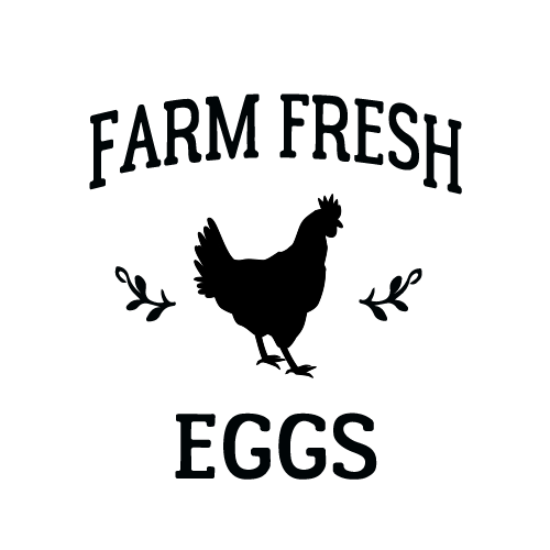 Print on Demand: Farm Fresh Eggs Graphic Crafts By Jessica Maike