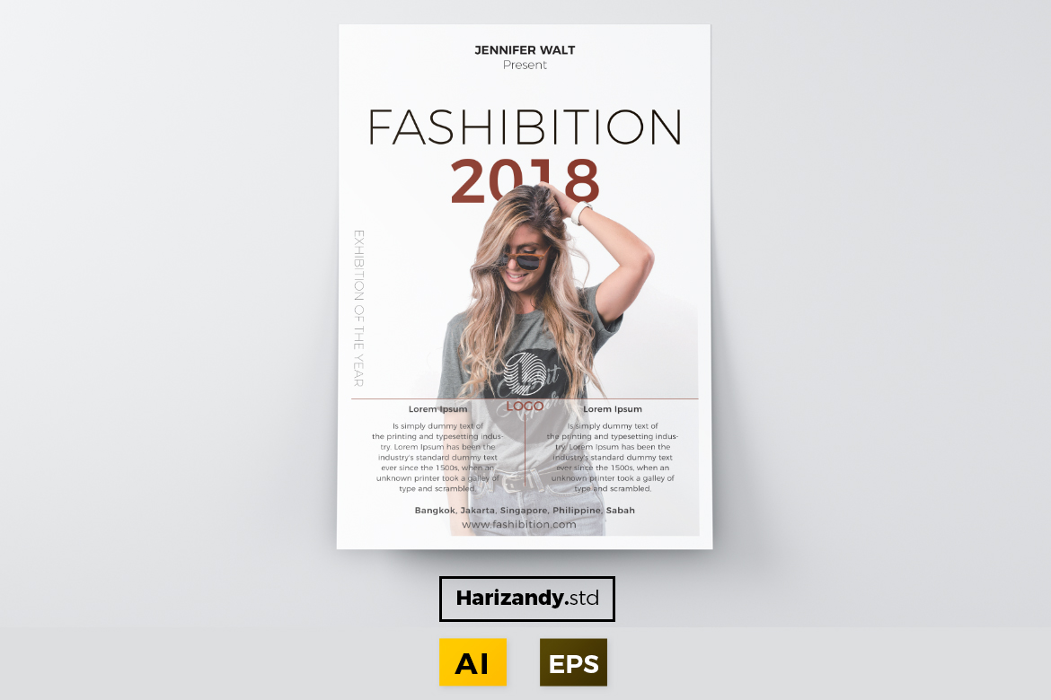 Fashibition Graphic Print Templates By harizandy