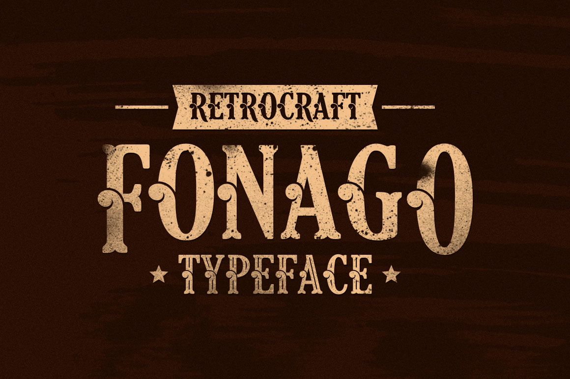 Print on Demand: Fonago Display Font By locomotype