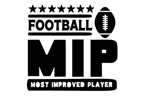 Download Free Football Most Improved Player Svg Cut File By Creative Fabrica for Cricut Explore, Silhouette and other cutting machines.