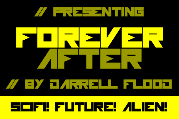 Forever After Display Font By Dadiomouse