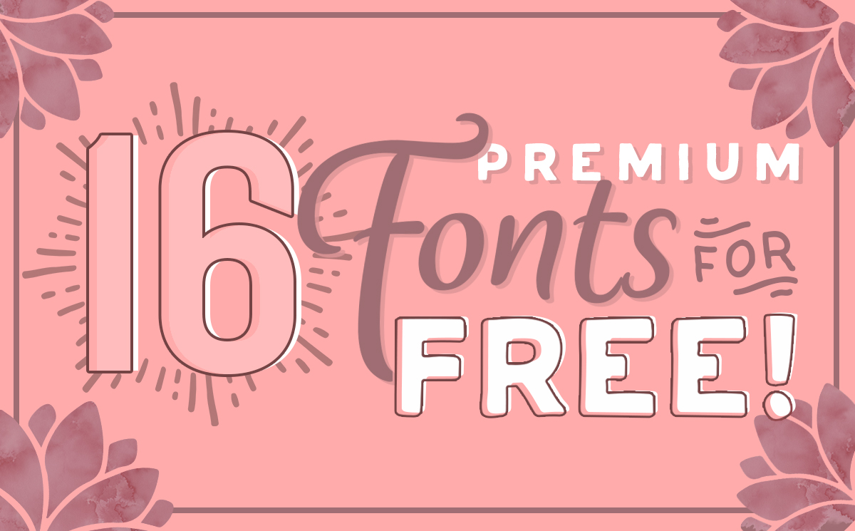 Download Free Free Font Bundle Vol 2 Bundle Creative Fabrica for Cricut Explore, Silhouette and other cutting machines.
