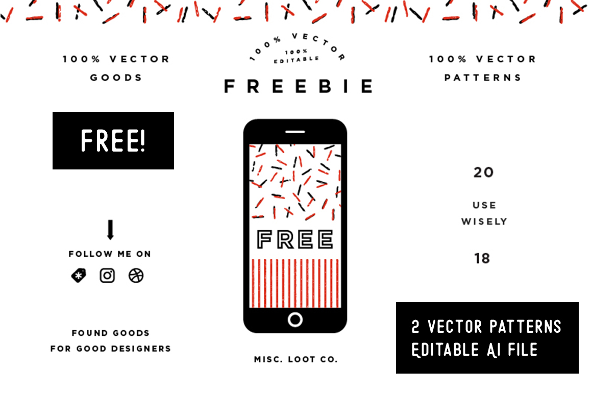 Free Vector Patterns Graphic Patterns By Creative Fabrica Freebies