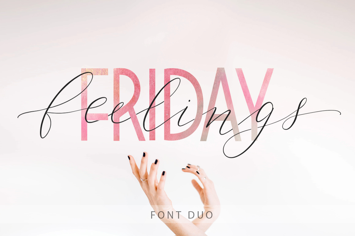 Friday Feelings Font By Red Ink