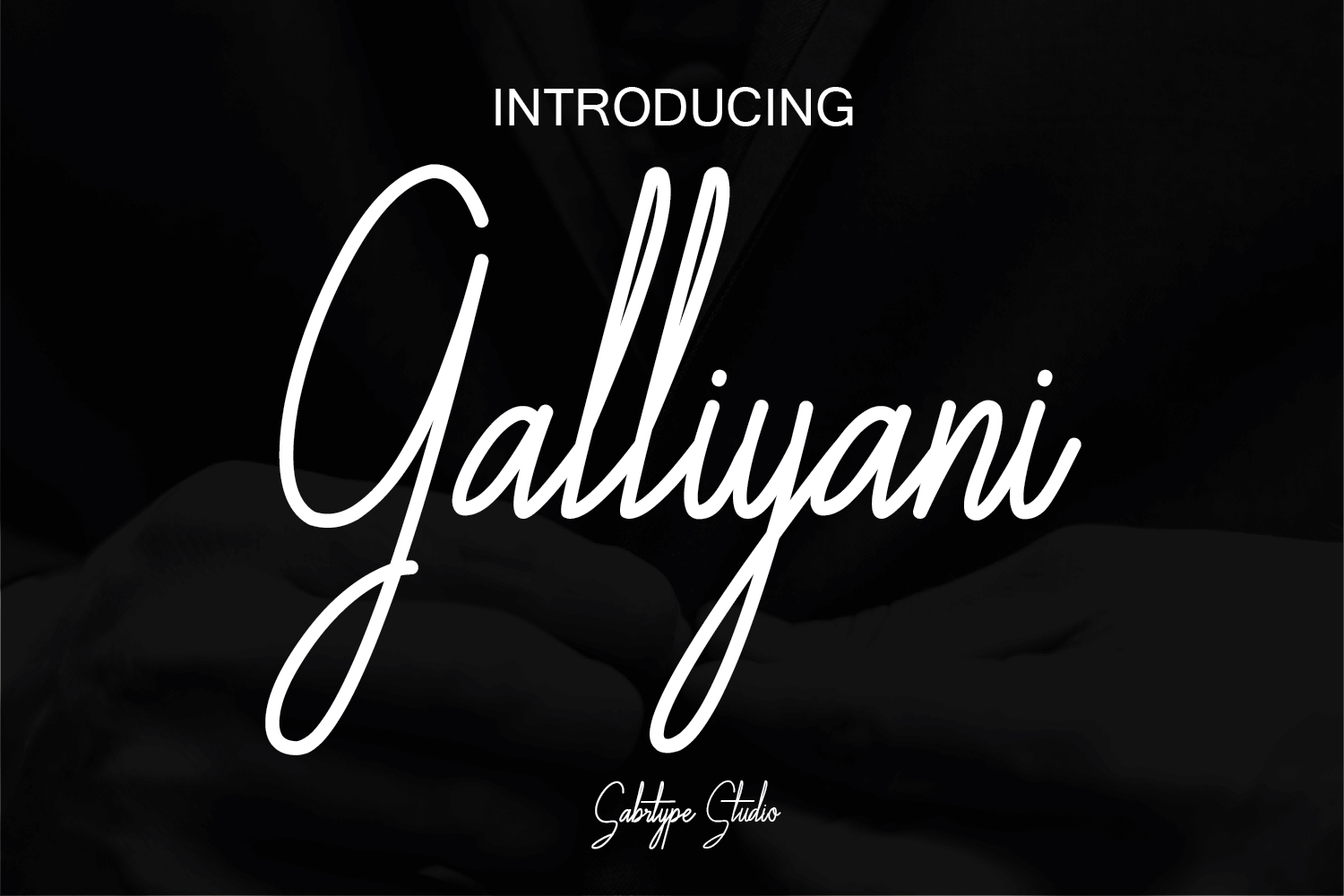 Galliyani Font By sabrcreative