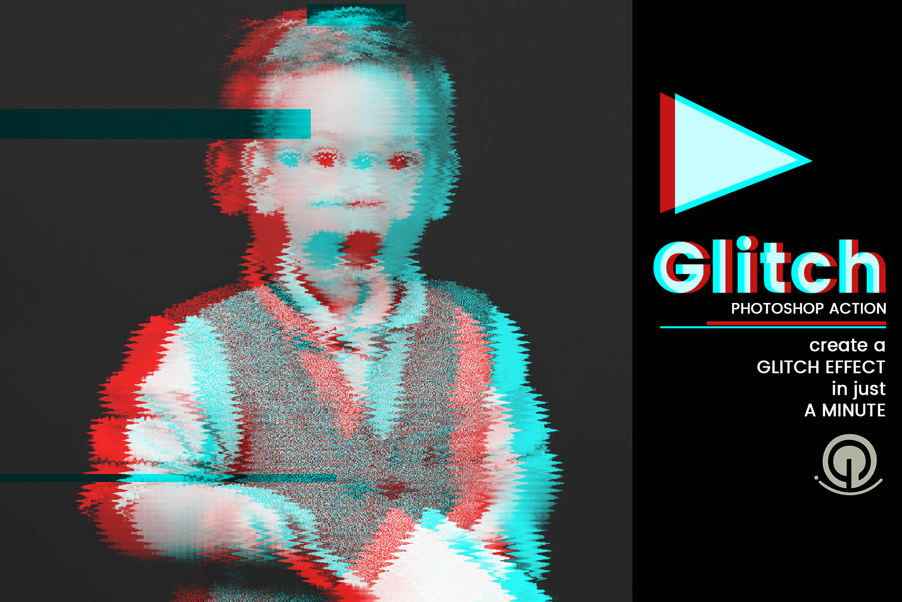 Glitch Photoshop Action Graphic Actions & Presets By gumacreative - Image 4