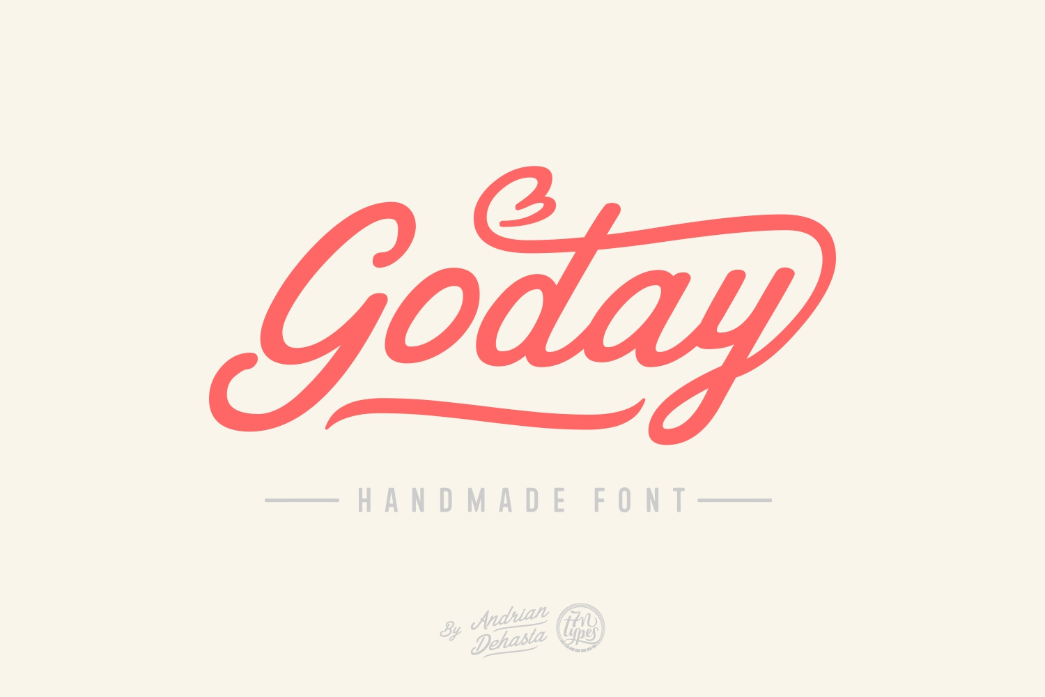 Print on Demand: Goday Script & Handwritten Font By Andrian Dehasta - Image 1