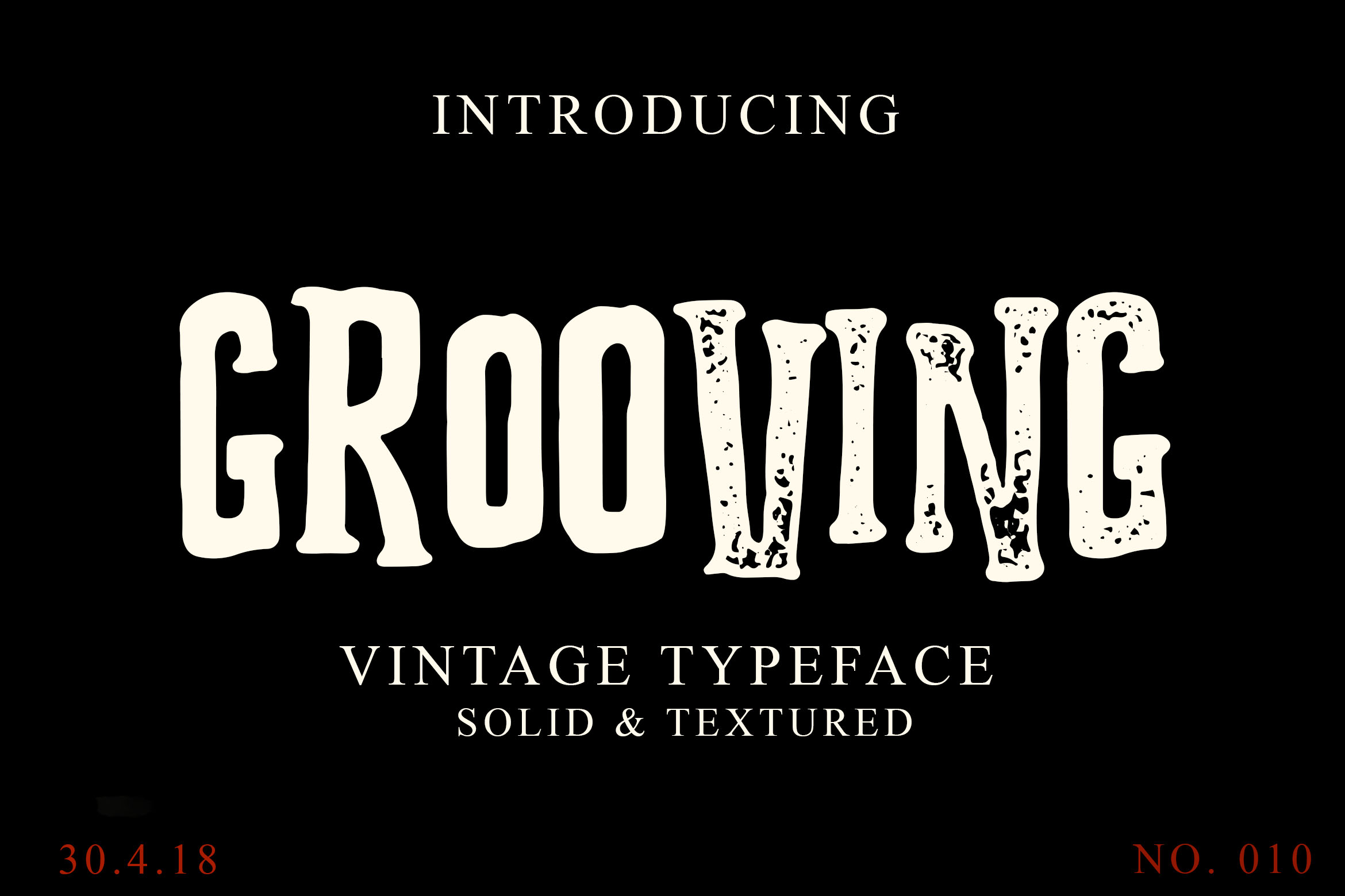 Print on Demand: Grooving Display Font By Lettersiro Co.