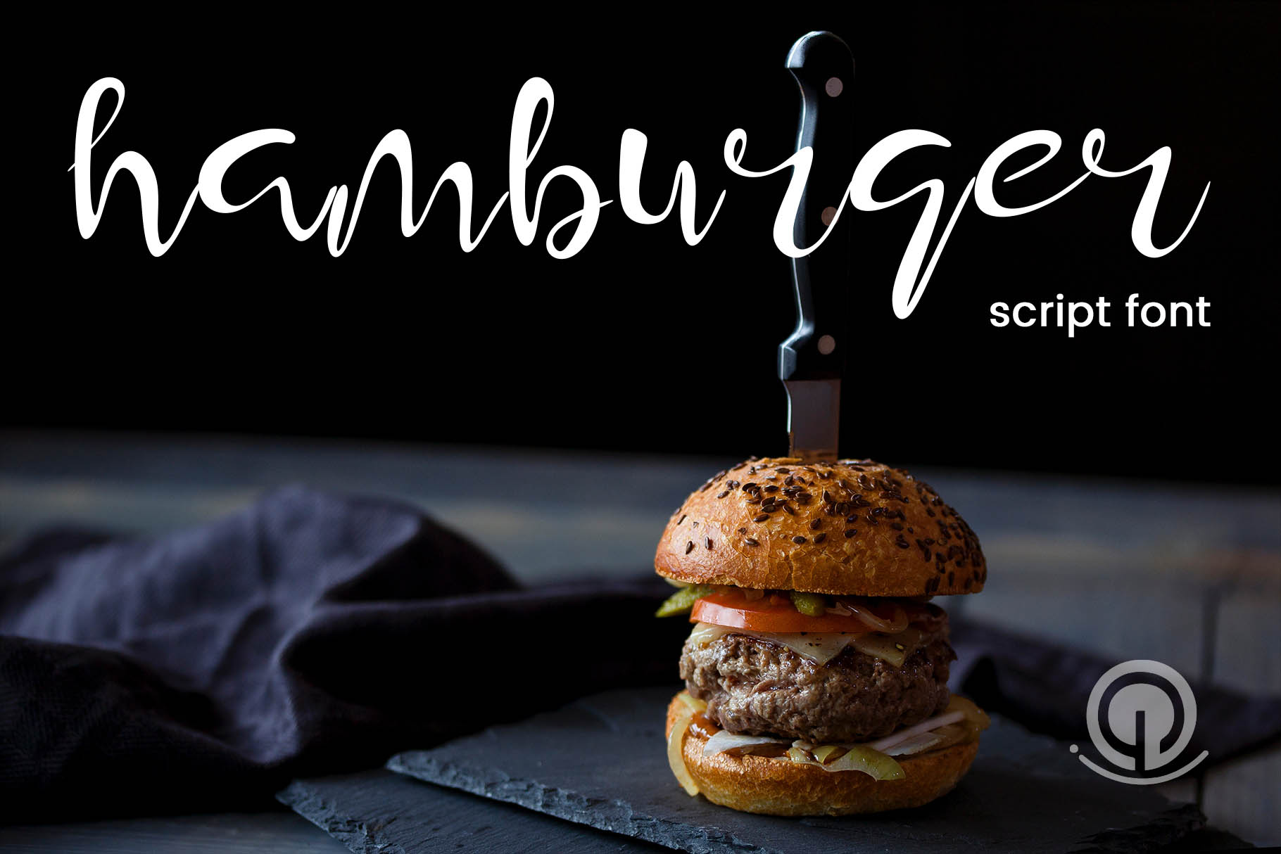Hamburger Font By gumacreative