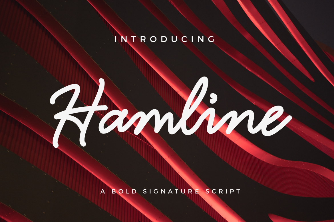 Print on Demand: Hamline Script & Handwritten Font By Typia Nesia