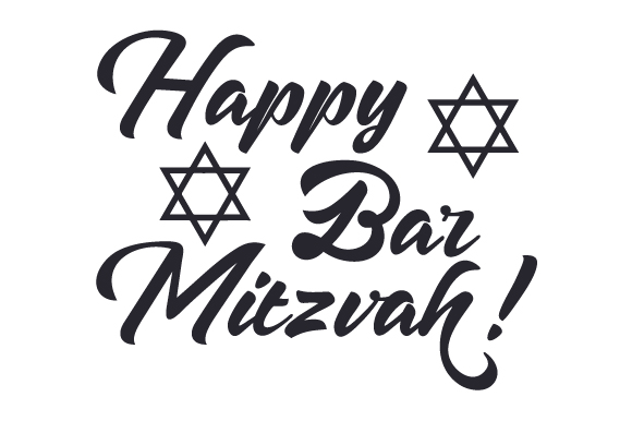 Download Free Happy Bar Mitzvah Svg Cut File By Creative Fabrica Crafts for Cricut Explore, Silhouette and other cutting machines.