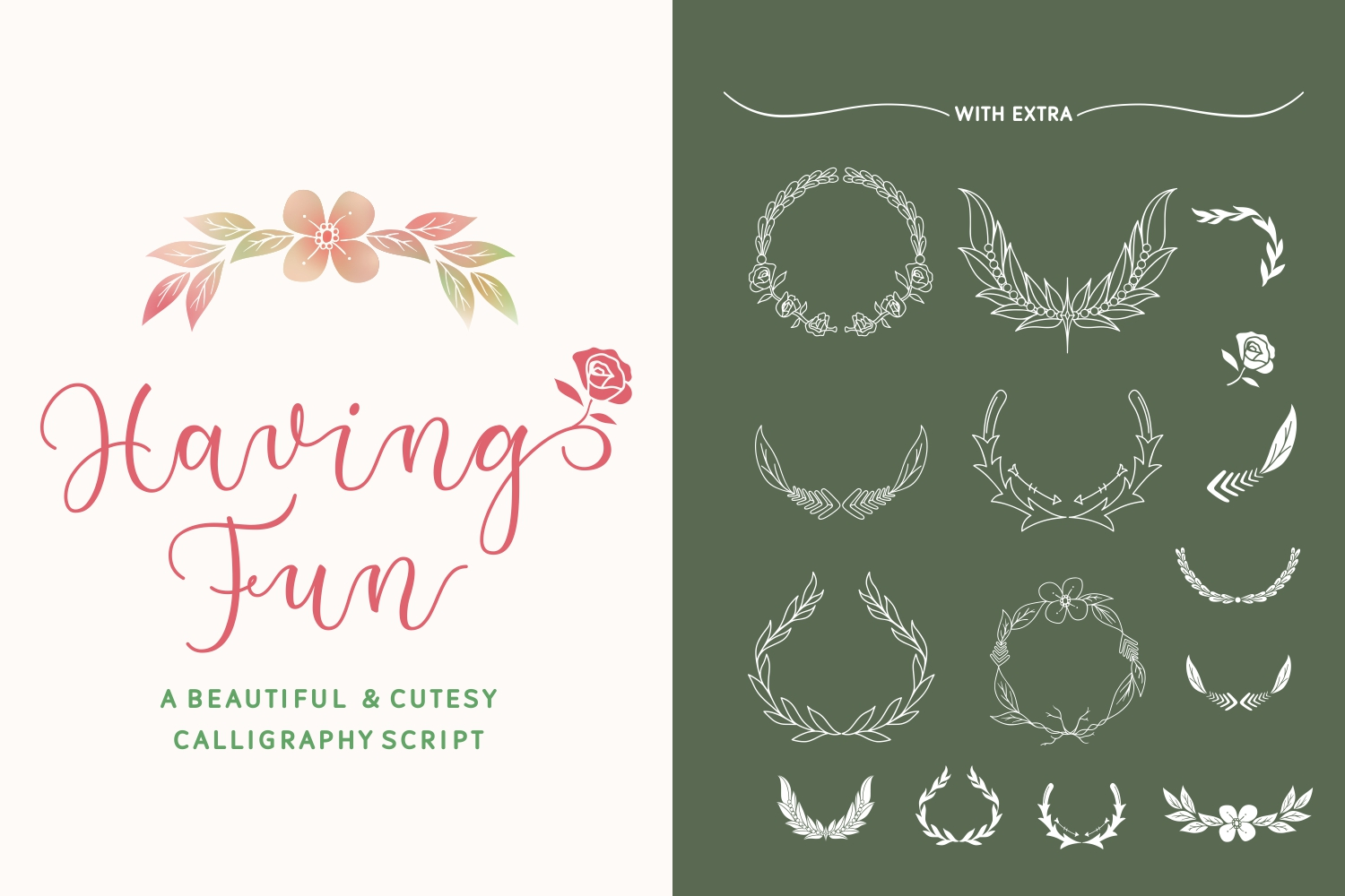 Print on Demand: Having Fun Script & Handwritten Font By Rifki (7ntypes)