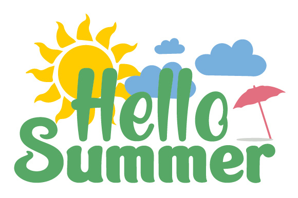 Hello Summer SVG Cut file by Creative Fabrica Crafts ...