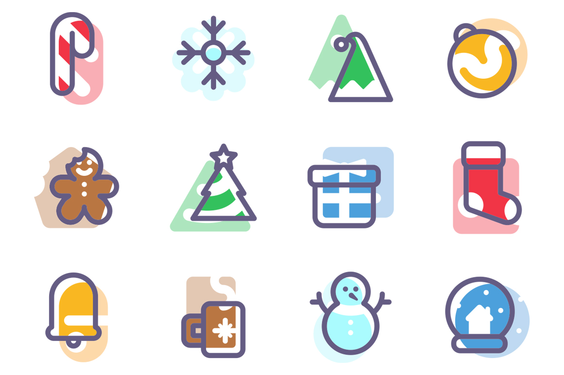 Holiday Icon Set Graphic Icons By Creative Fabrica Freebies - Image 2