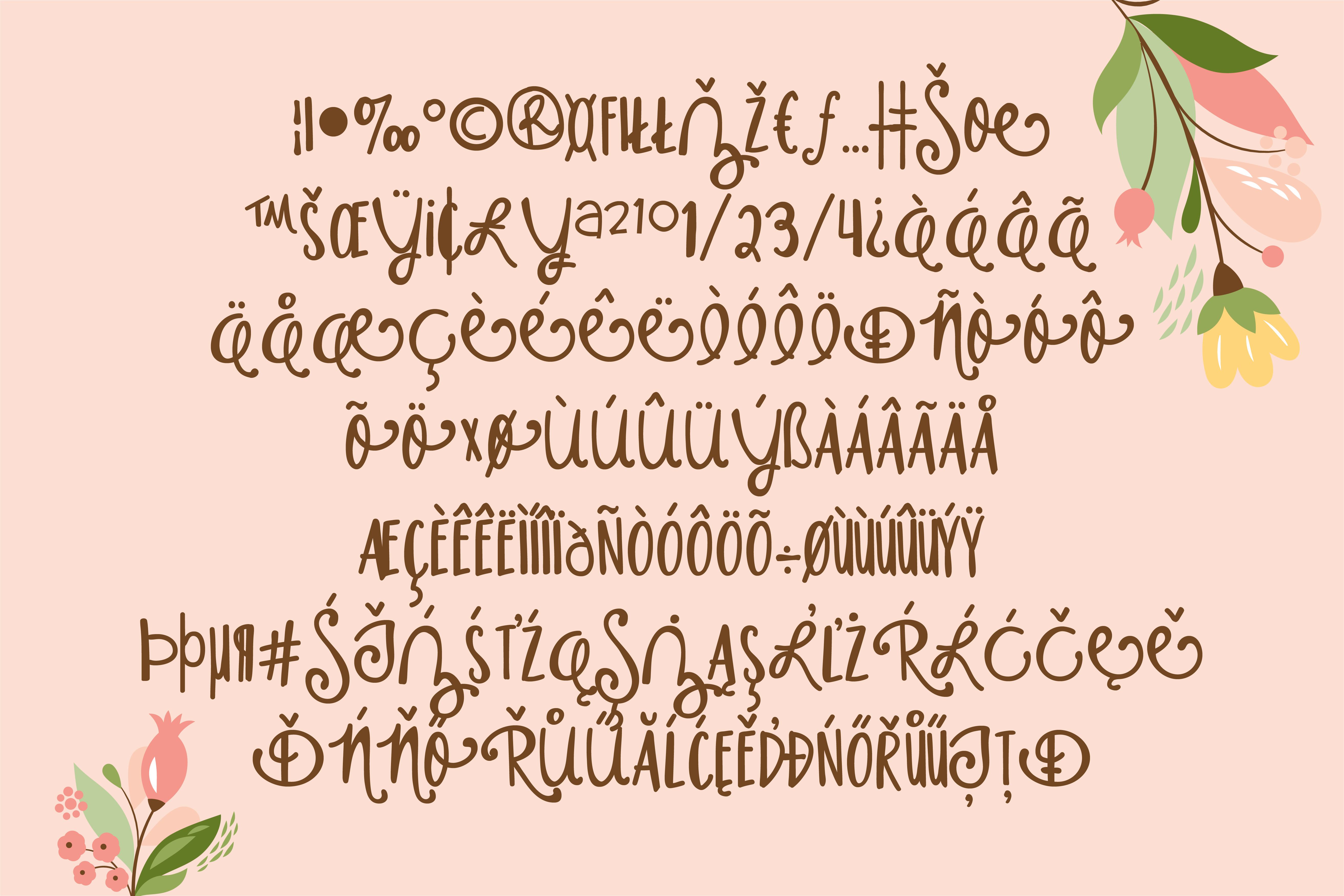 Print on Demand: Housewife Script & Handwritten Font By Illustration Ink - Image 5