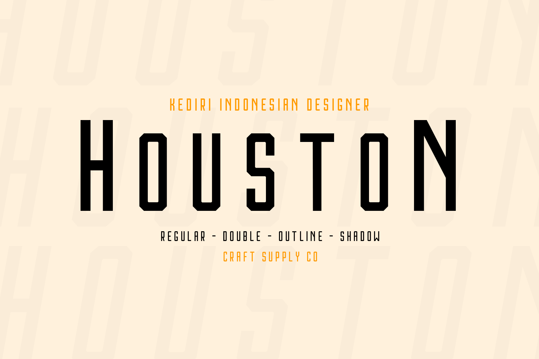 Print on Demand: Houston Sans Serif Font By craftsupplyco - Image 2