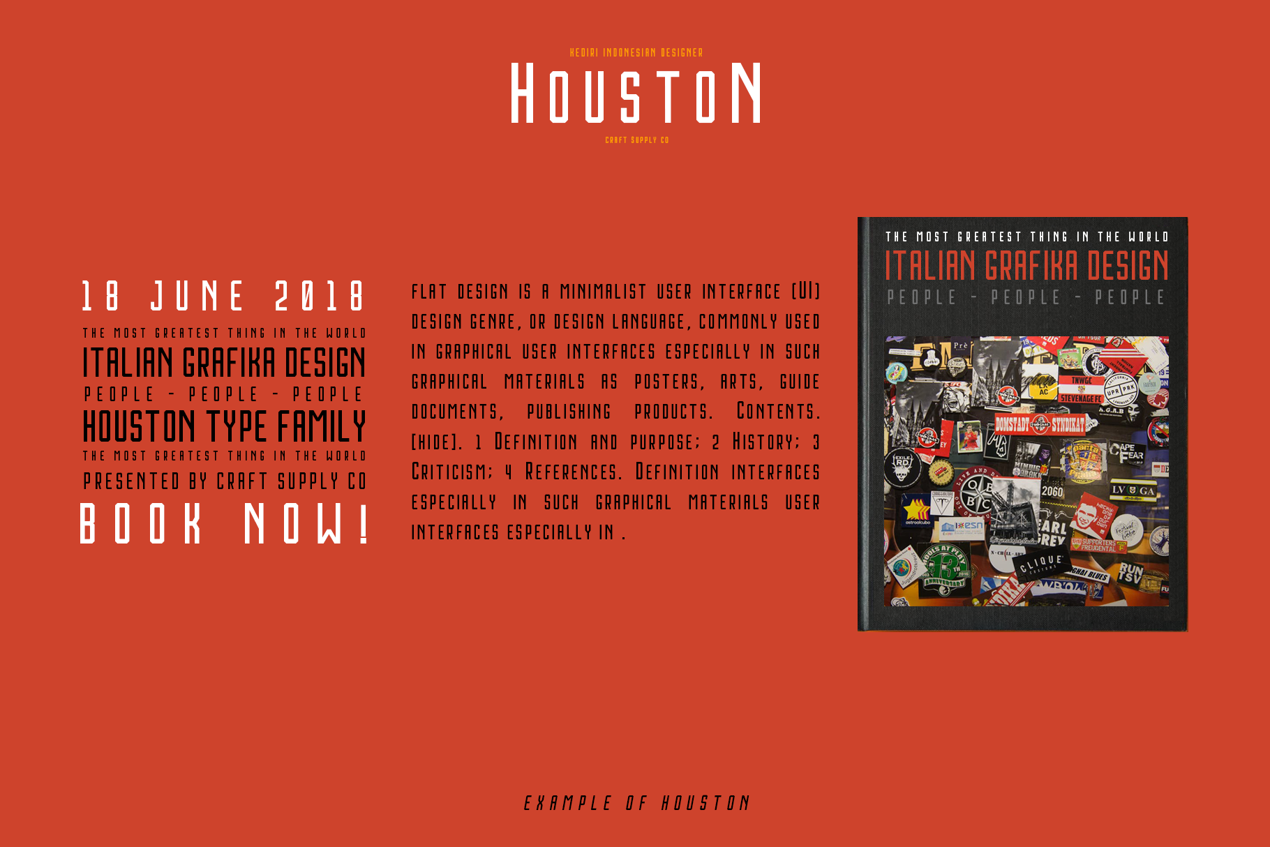 Print on Demand: Houston Sans Serif Font By craftsupplyco - Image 5