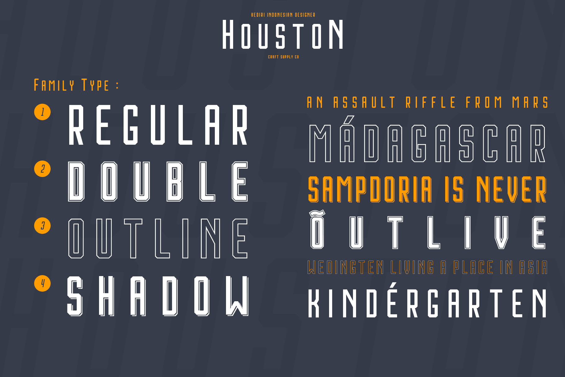 Print on Demand: Houston Sans Serif Font By craftsupplyco - Image 6