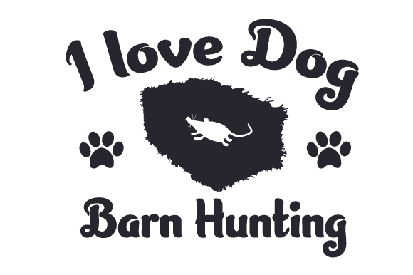 Download Free I Love Dog Barn Hunting Svg Cut File By Creative Fabrica Crafts for Cricut Explore, Silhouette and other cutting machines.