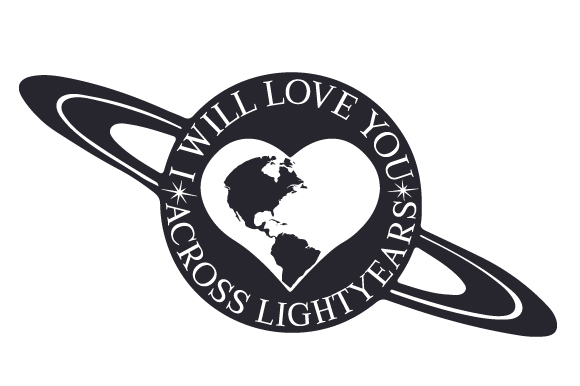 Download Free I Will Love You Across Lightyears Svg Cut File By Creative for Cricut Explore, Silhouette and other cutting machines.
