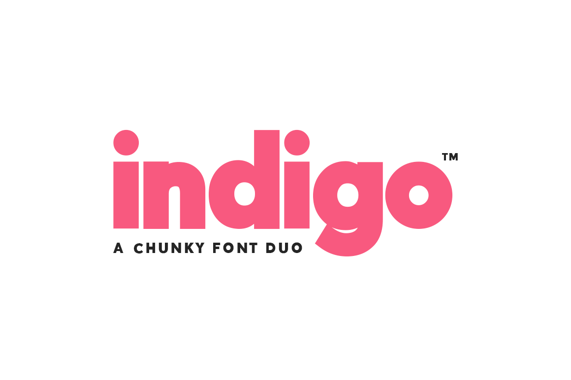 Print on Demand: Indigo Font Duo Sans Serif Font By Salt & Pepper Designs