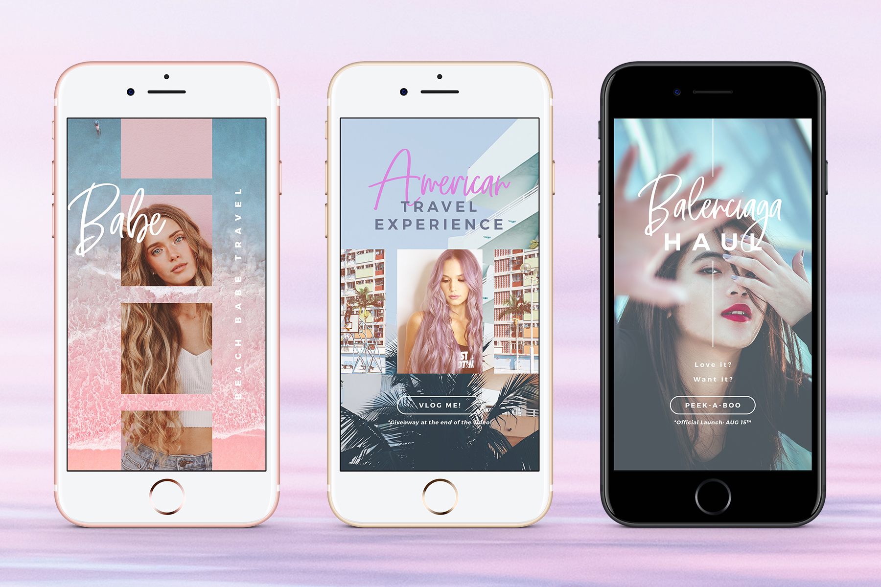 Instagram Stories - Dreamy Vibes Ed. Graphic Web Elements By lavie1blonde - Image 8