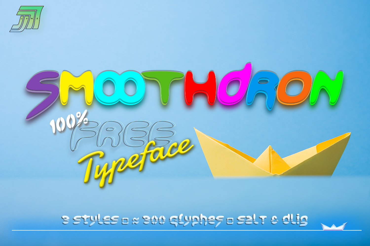 Print on Demand: JVNE Smoothdron Font By Jvne77 - Image 1