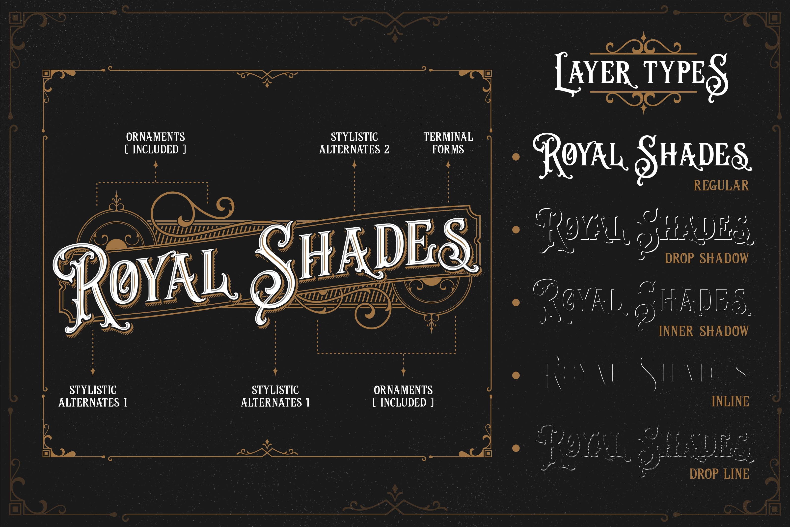 Print on Demand: Java Heritages Display Font By Heybing Supply Co. - Image 2