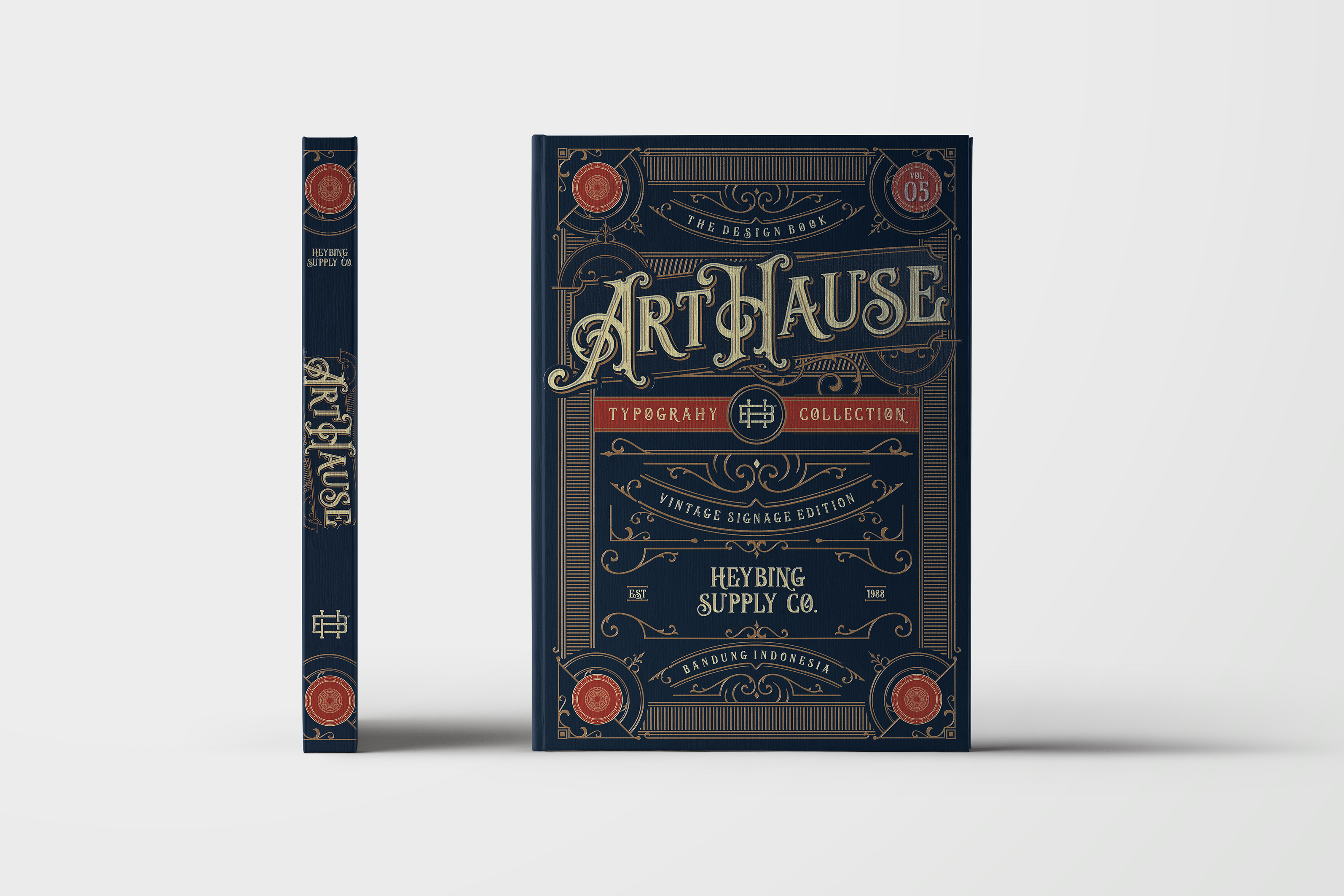 Print on Demand: Java Heritages Display Font By Heybing Supply Co. - Image 6