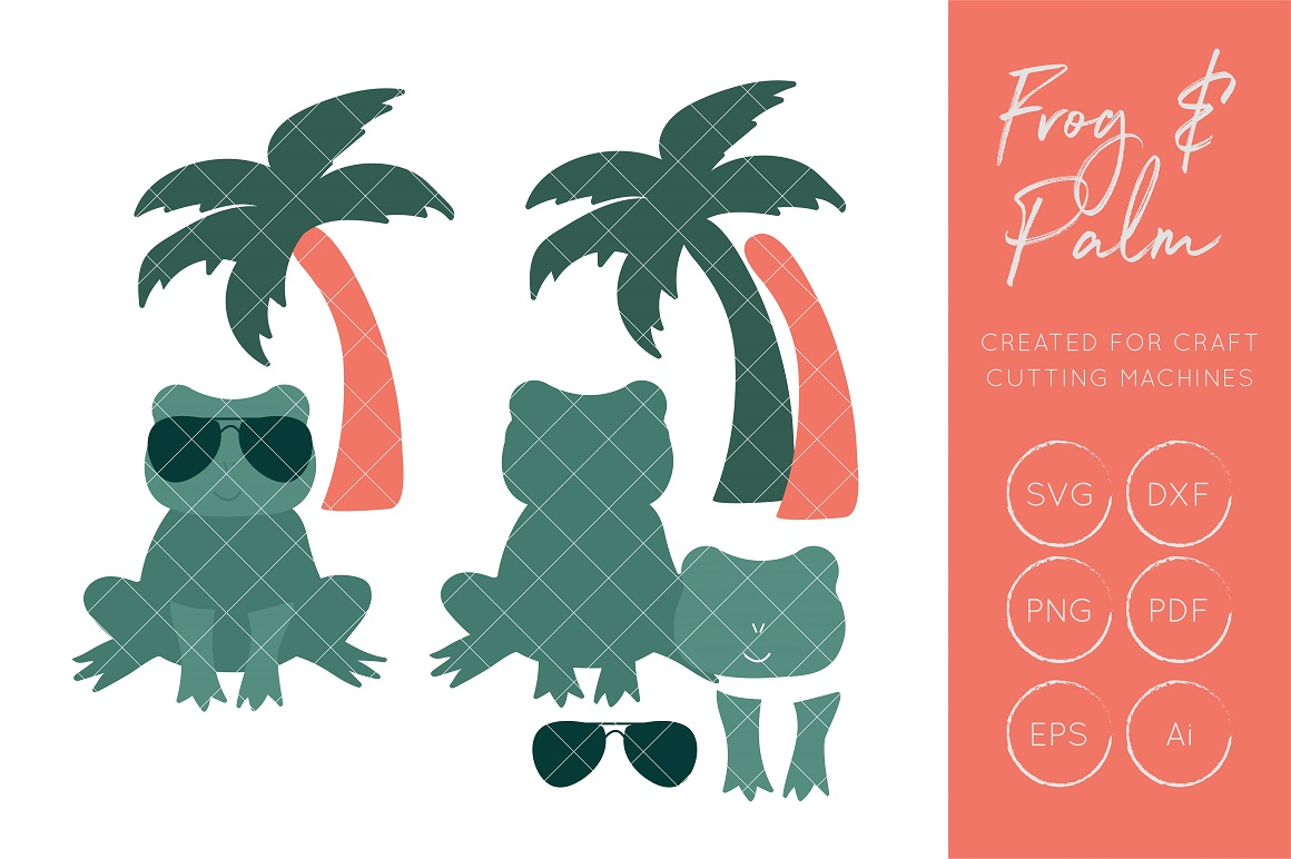 Download Free Jungle Crocodile Graphic By Illuztrate Creative Fabrica for Cricut Explore, Silhouette and other cutting machines.