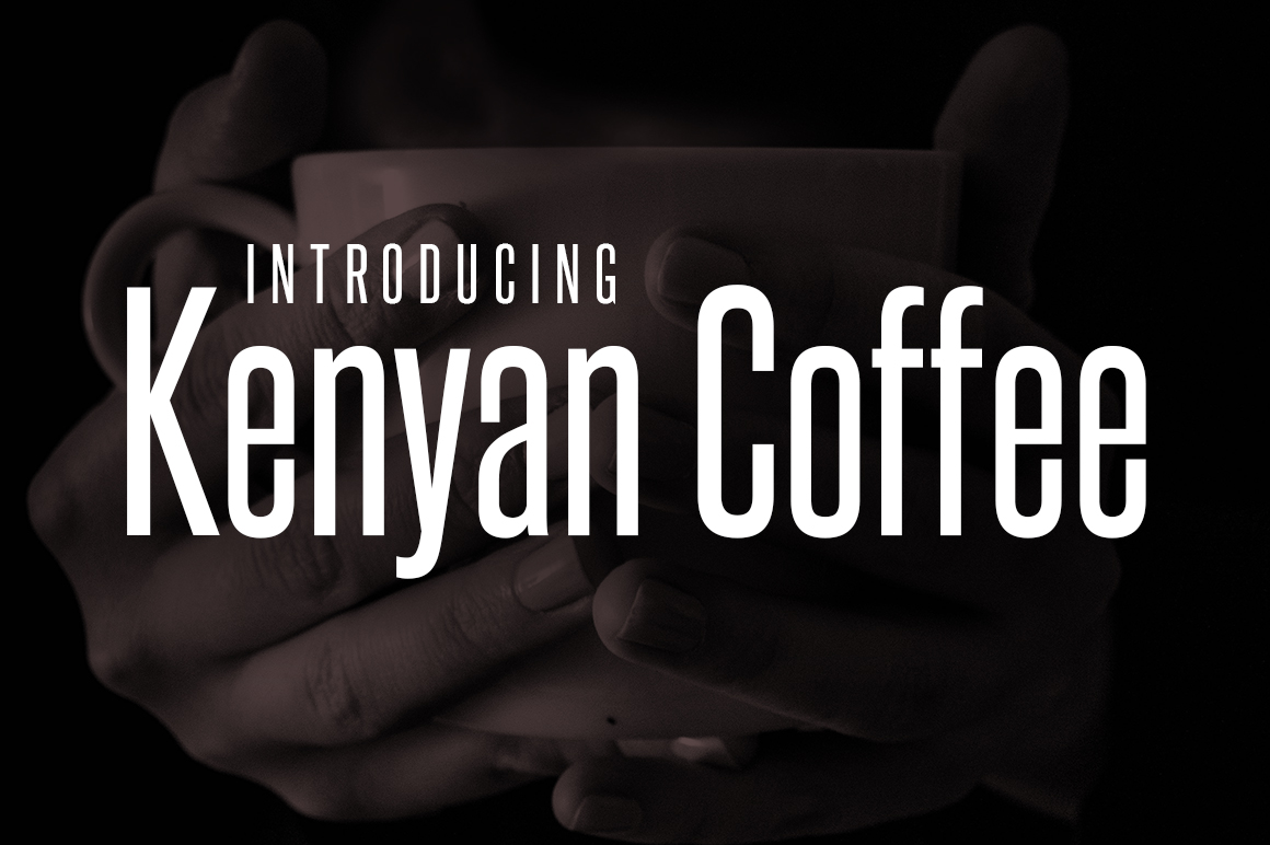 Print on Demand: Kenyan Coffee Sans Serif Fuente Por Typodermic