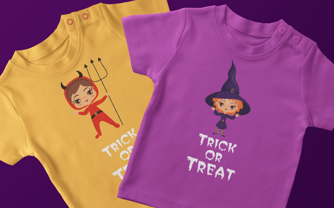 Print on Demand: Kids Halloween Party Vector Illustrations Graphic Illustrations By Olga Belova - Image 3