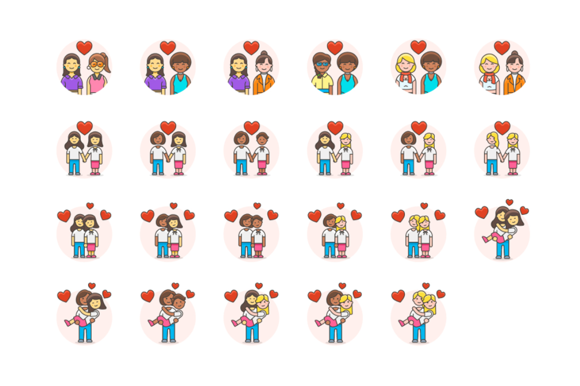 LGBT Digital Illustrations Graphic Icons By Creative Fabrica Freebies - Image 2