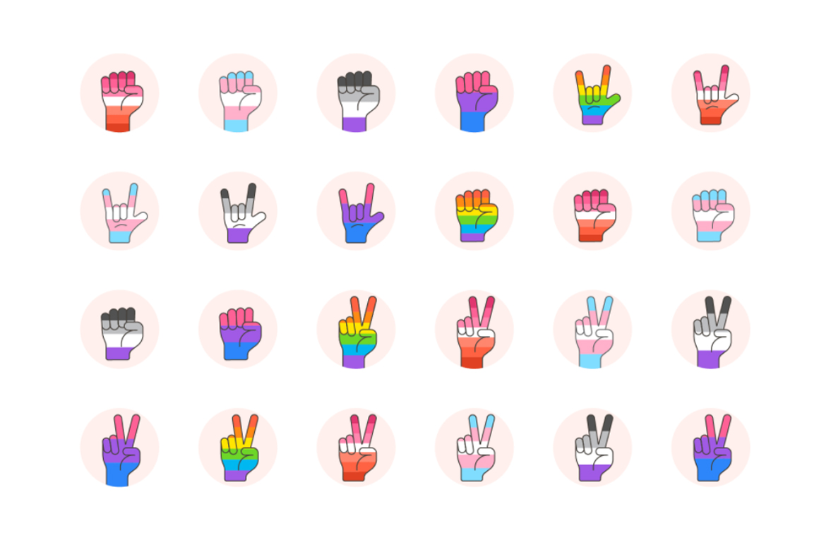 LGBT Digital Illustrations Graphic Icons By Creative Fabrica Freebies - Image 7