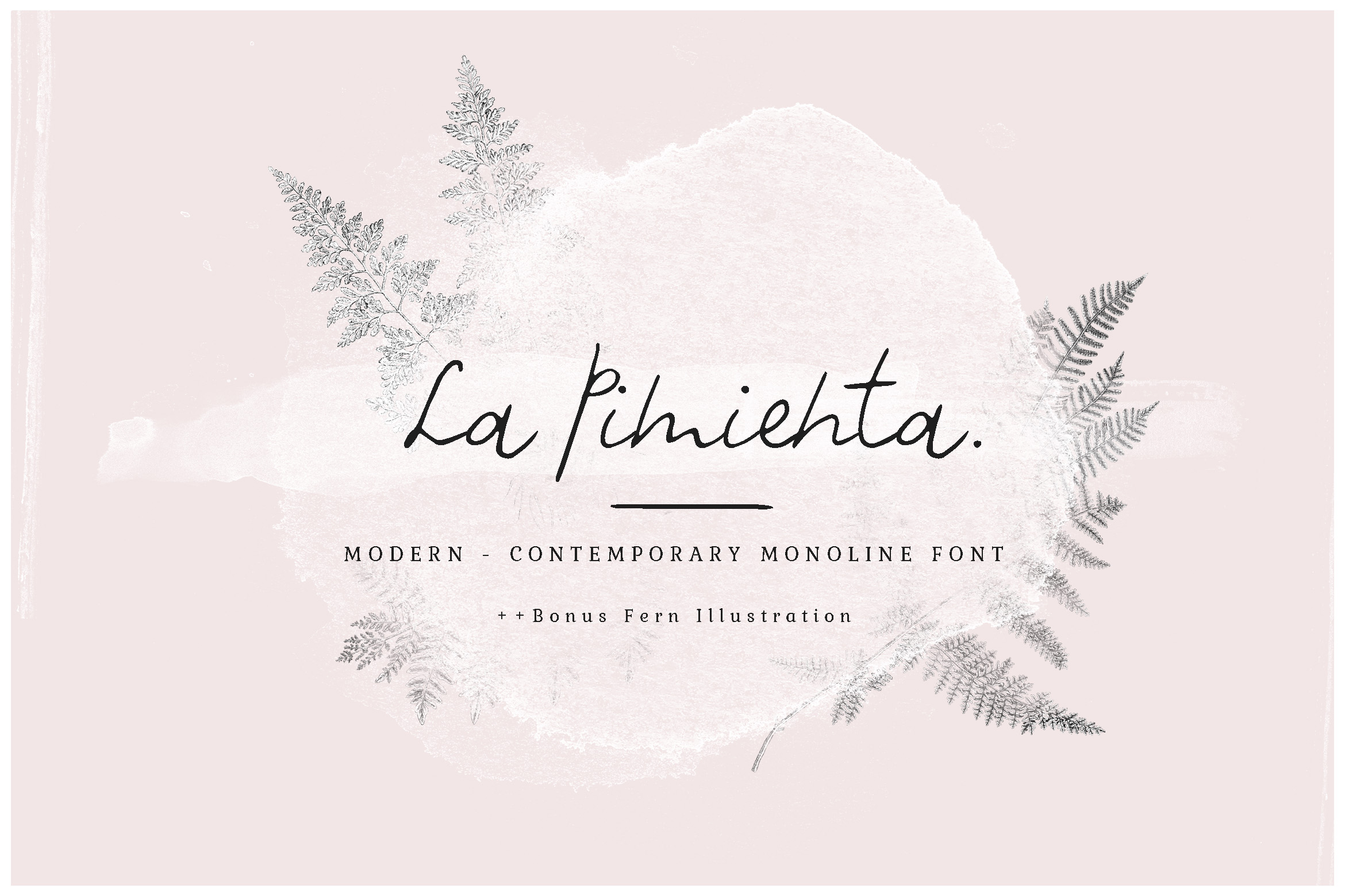 La Pimienta Script & Handwritten Font By Blue Robin Design Shop