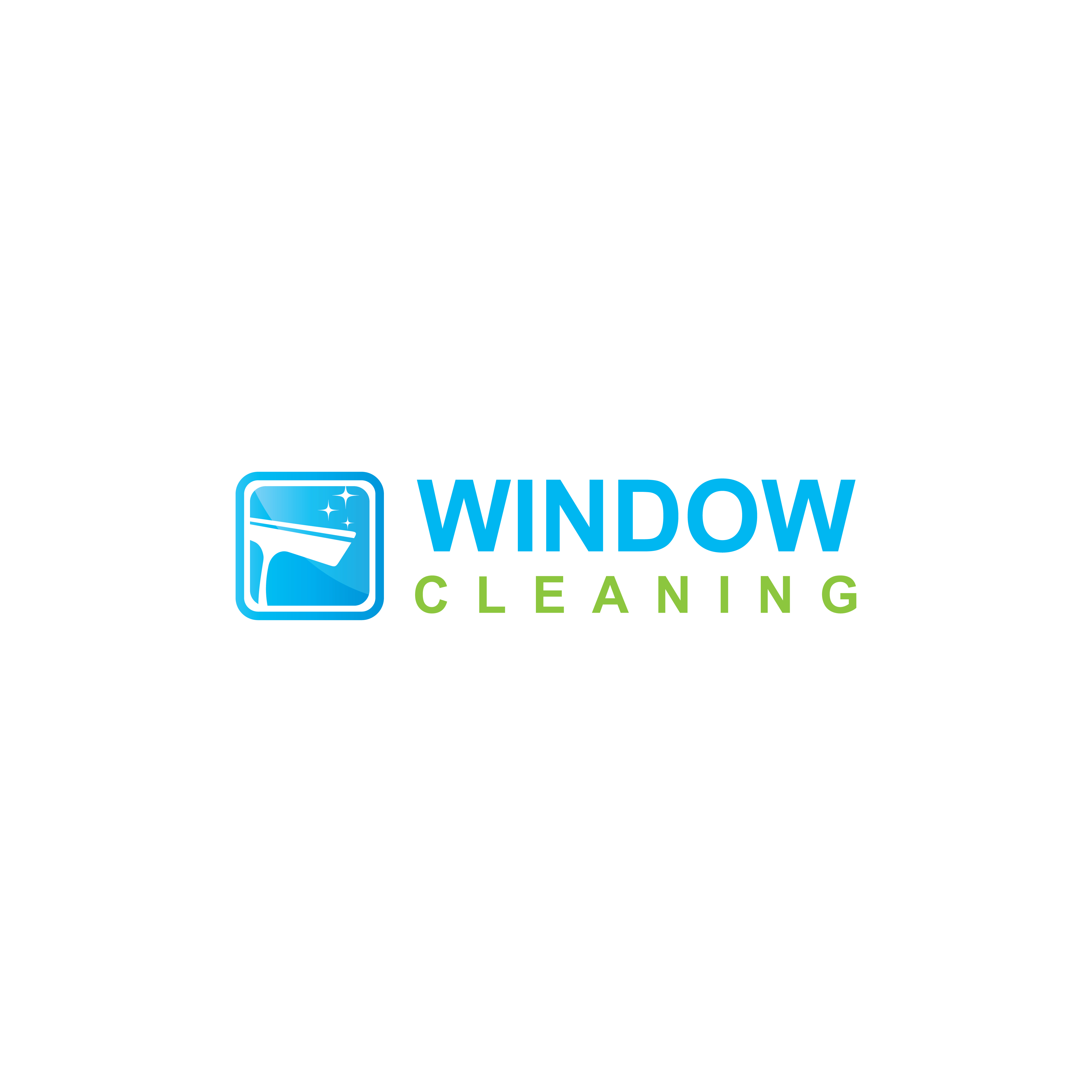 Print on Demand: Logo Window Cleaning Service Graphic Logos By sabavector