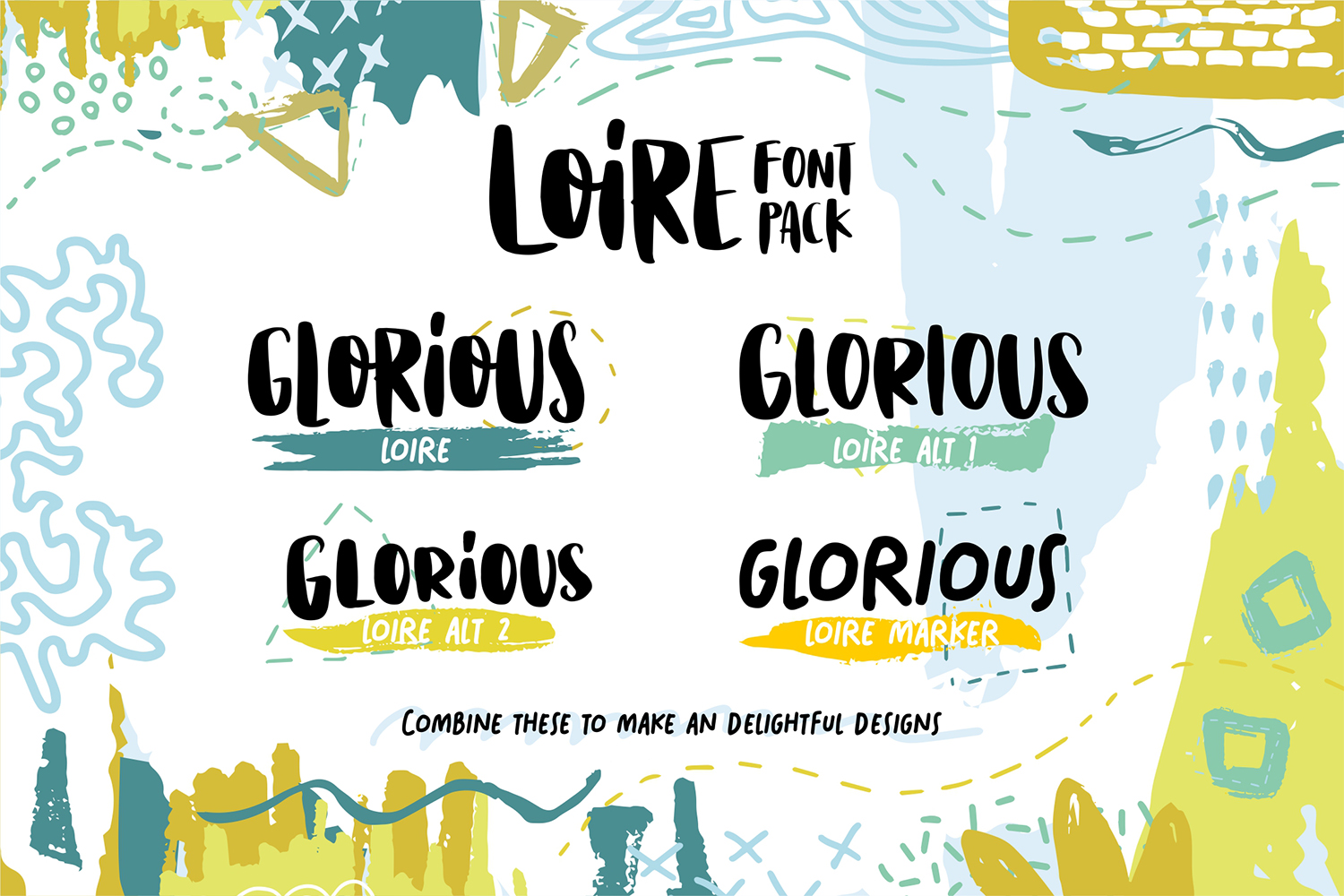 Print on Demand: Loire Display Font By Heybing Supply Co. - Image 2