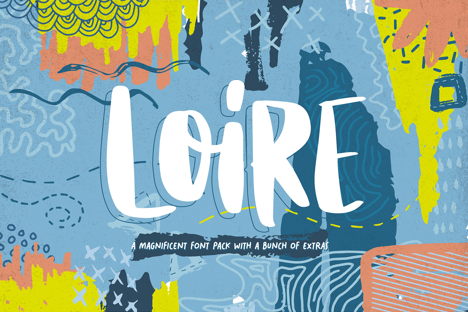 Print on Demand: Loire Display Font By Heybing Supply Co.