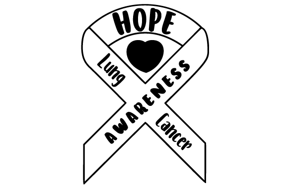 Download Free Lung Cancer Awareness Svg Cut File By Creative Fabrica Crafts for Cricut Explore, Silhouette and other cutting machines.