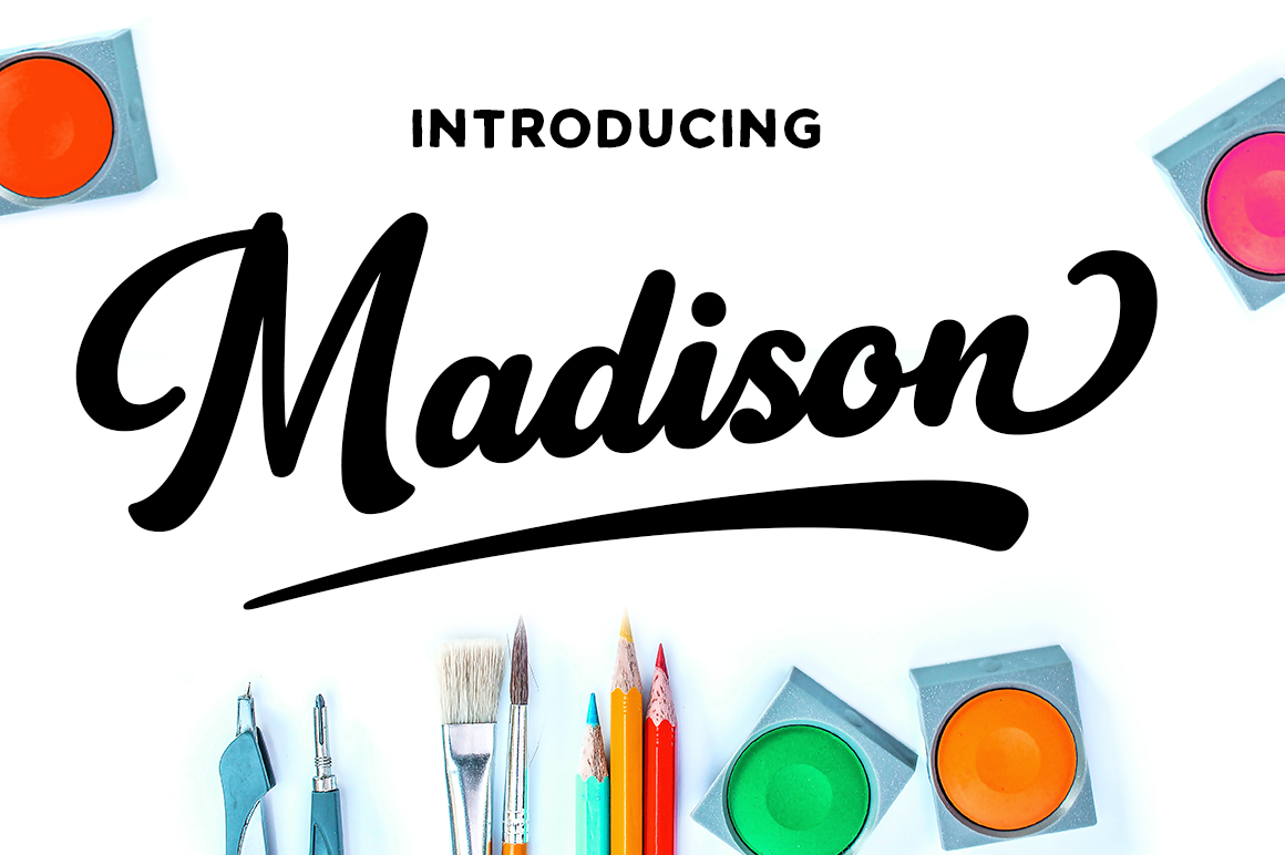 Print on Demand: Madison Script & Handwritten Font By Silhouette America, Inc.