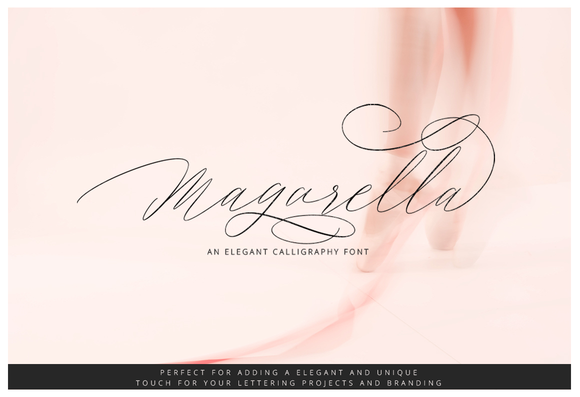 Print on Demand: Magarella Script & Handwritten Font By Ijem RockArt