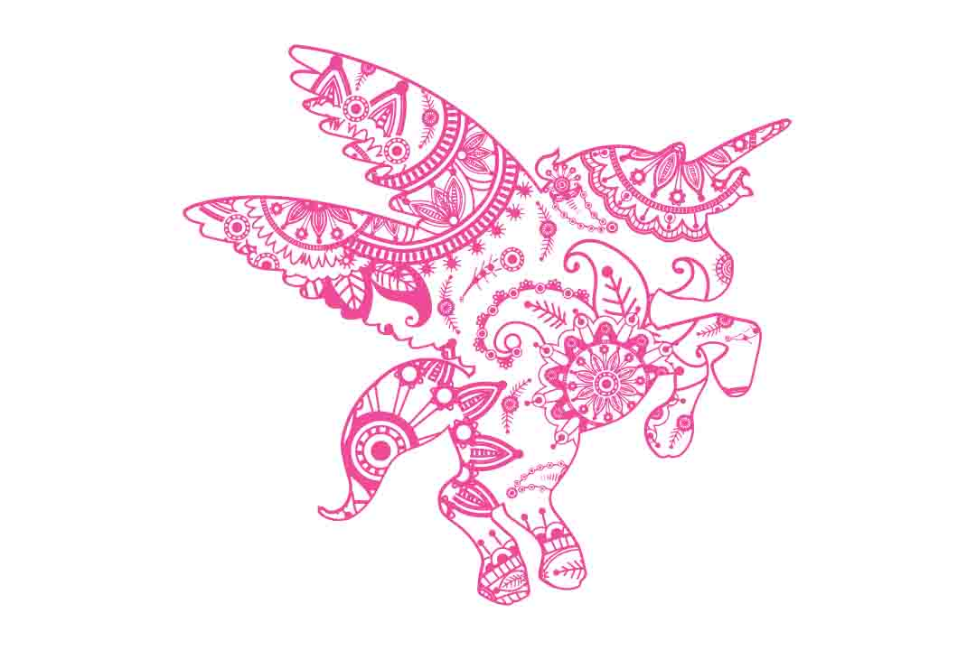 Download Free Mandala Unicorn Zentagle Unicorn Unicorn Clipart Unicorn Cut for Cricut Explore, Silhouette and other cutting machines.