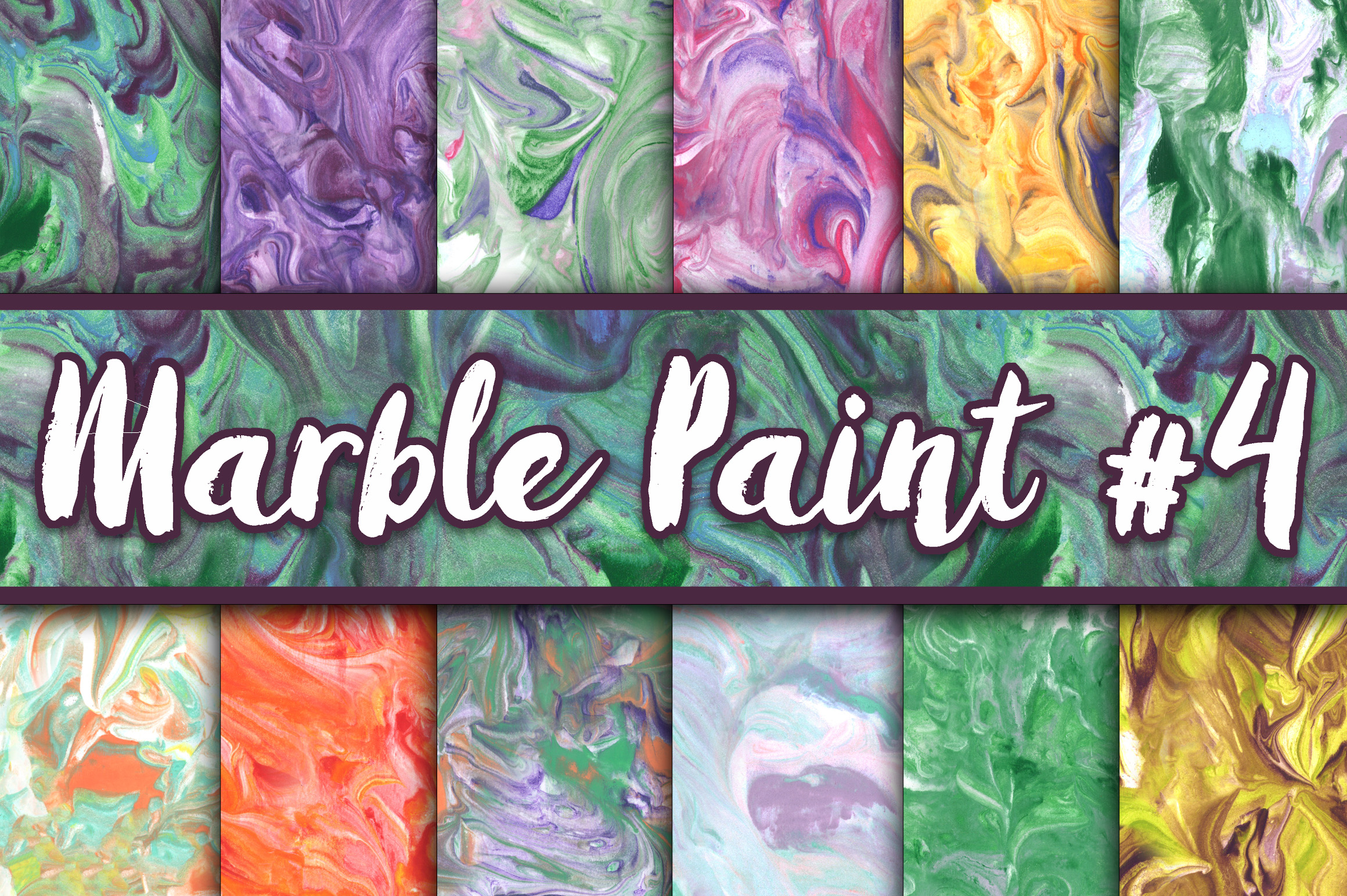 Print on Demand: Marble Paint Textures Graphic Textures By oldmarketdesigns