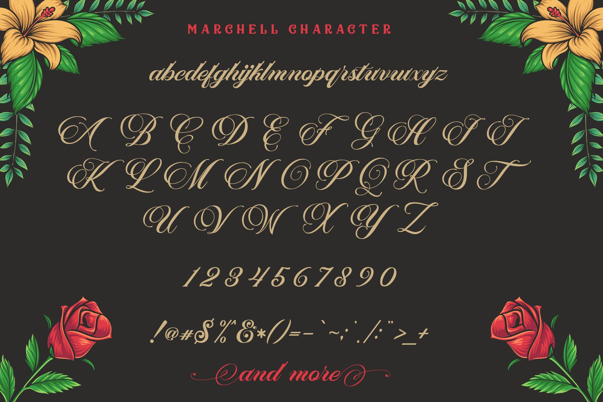 Print on Demand: Marchell Script & Handwritten Font By Blankids Studio - Image 7