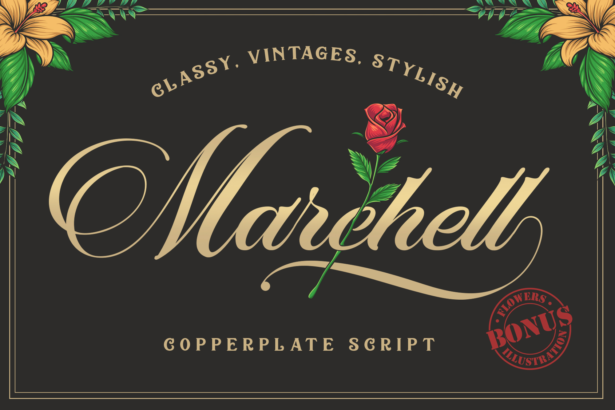 Print on Demand: Marchell Script & Handwritten Font By Blankids Studio - Image 1