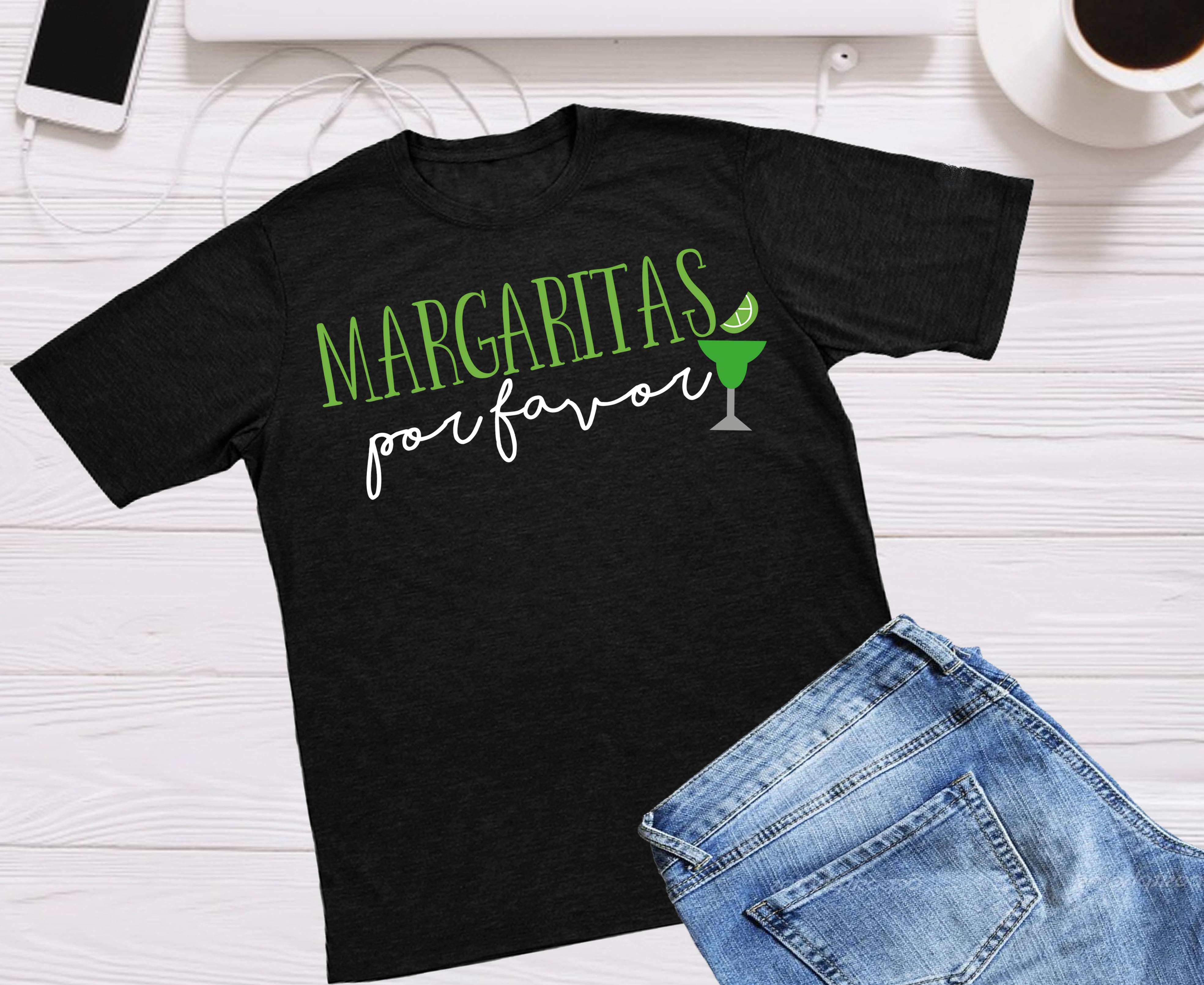 Download Free Margaritas Por Favor Cinco De Mayo Cut File Graphic By Cute for Cricut Explore, Silhouette and other cutting machines.