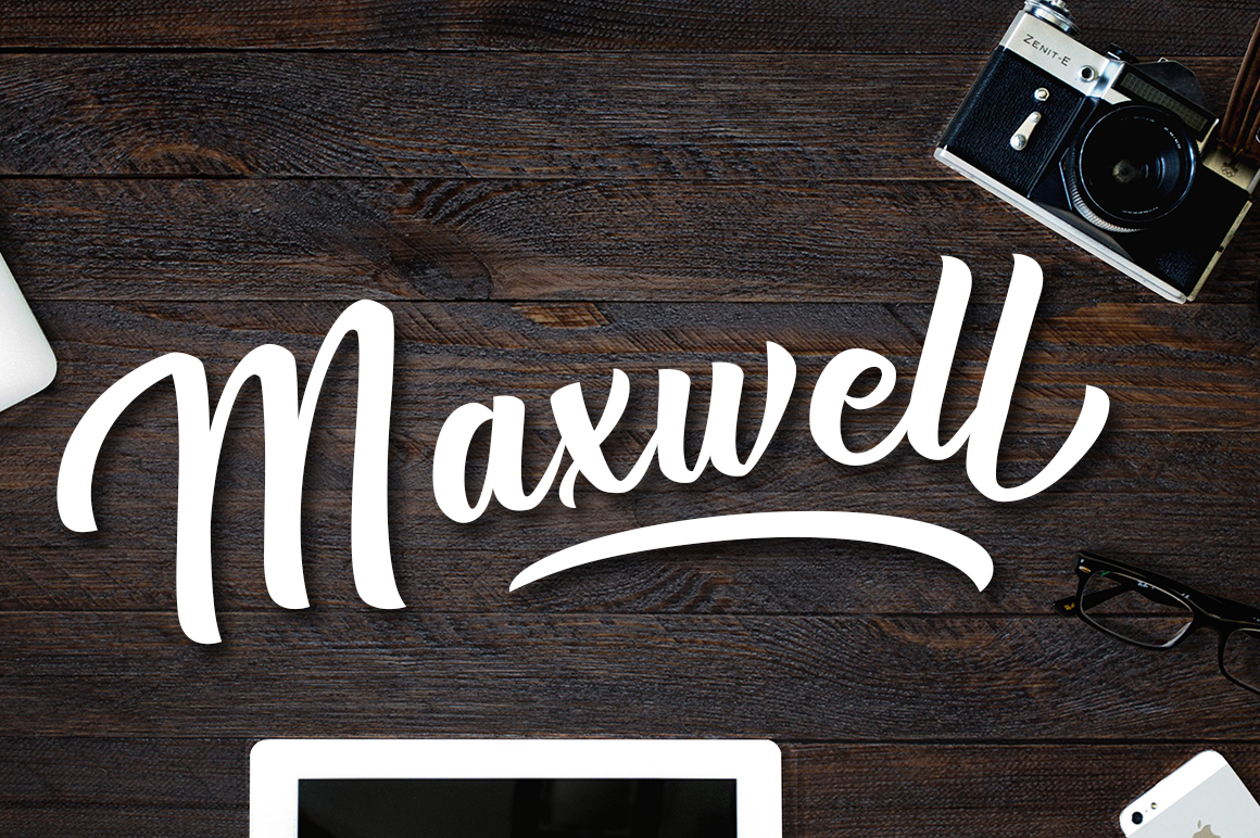 Print on Demand: Maxwell Script & Handwritten Font By Silhouette America, Inc.