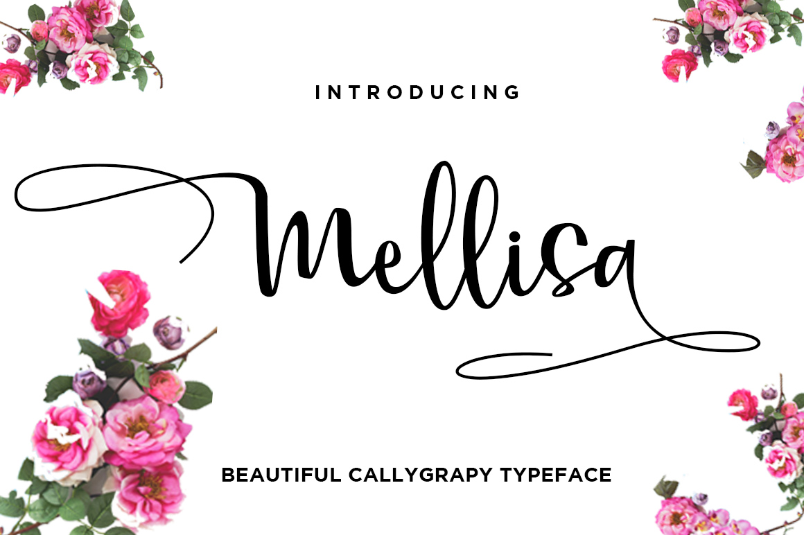 Print on Demand: Mellisa Script & Handwritten Font By Haksen
